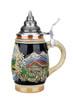 Mini Alpine Motif Stein 1/4 Liter