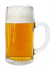 Left Side View, Styria Smooth Body Oktoberfest Glass Beer Mug 1 Liter