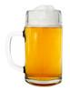 Right Side View Styria Smooth Body Oktoberfest Glass Beer Mug 0.5L