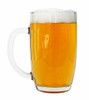Right Side View 0.5L Bohmisches Glass Beer Mug