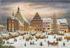 Freiberg Christmas Market Large German Advent Calendar