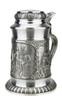 Defregger Pewter Beer Stein | 0.5 Liter