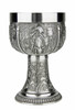 Grape Harvest Pewter Wine Chalice