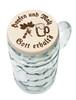 Hopfen und Malz - Gott erhalts. Hops and malt - may God preserve them. (mug not included)