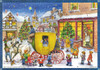 Christmas Carriage German Advent Calendar