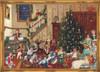 Victorian Christmas Day German Advent Calendar