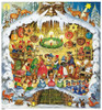 Fairy Tale 1987 Reproduction German Advent Calendar