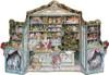 Christmas Store 1988 Reproduction 3D German Advent Calendar