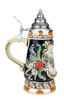 Kin-Werk Hand Painted German Beer Stein of Geneva Switzerland