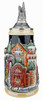 Neuschwanstein and King Ludwig Castle 3D Beer Stein with Castle Lid