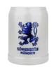 .5 Liter Gray Stoneware Lowenbrau Brewery Mug