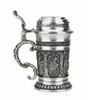 Knights Schnapps Pewter Mini Stein | 1.5oz