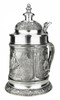 Siegfried Treasure of the Nibelungen Pewter Beer Stein