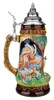 Howling Wolf Wildlife Grotto Beer Stein