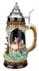 Hunter with Dog Wildlife Grotto Beer Stein