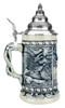 Alpine Wildlife Antique Style Beer Stein