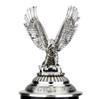 Lord of Crystal Eagle German Beer Stein Black | 3D Flying Eagle Lid