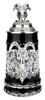 Lord of Crystal Ram German Beer Stein Black | 3D Ram Lid