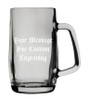 Ludwig Glass Beer Mug 0.5 Liter