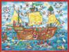 Christmas Ahoy Sailing Ship Extra Large German Advent Calendar