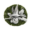 Duck Hunter German Rosette Hat Pin