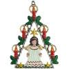 Angel Christmas Tree German Pewter Christmas Ornament
