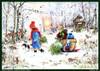 Winter Forest Hike German Christmas Advent Calendar