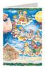 Mother Holle Grimm Fairy Tale German Advent Calendar Christmas Card