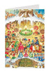 Fairy Tale Christmas Party German Advent Calendar Christmas Card