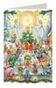 Once Upon a Time Fairy Tale German Advent Calendar Christmas Card