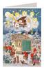 Snow White German Advent Calendar Christmas Card