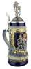 Bavaria Lion Crest Beer Stein with Bavarian Lion Lid