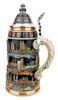 German Cities Beer Stein