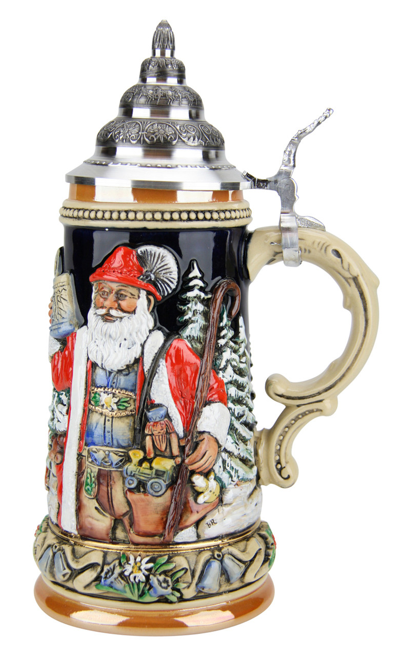 Ceramic Beer Stein with Handle