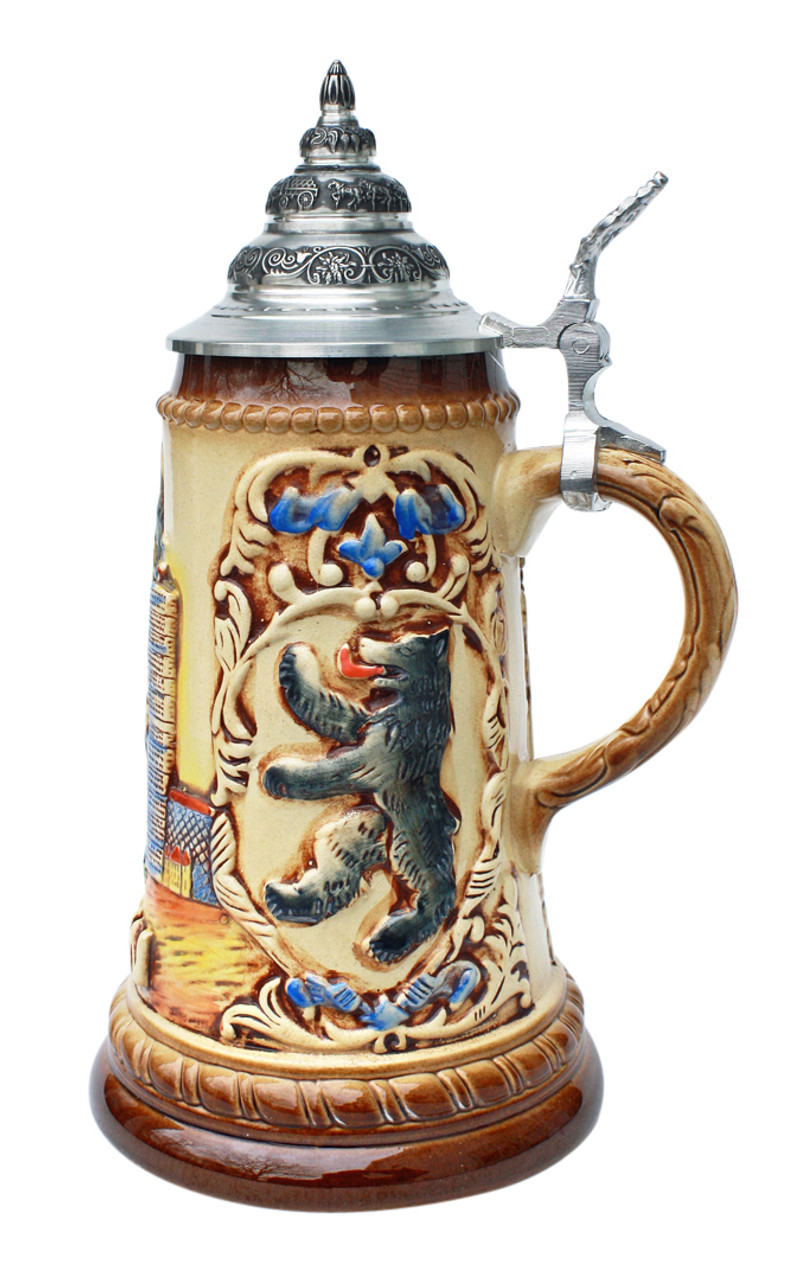 Berlin and Kaiser Wilhelm Memorial Church Beer Stein