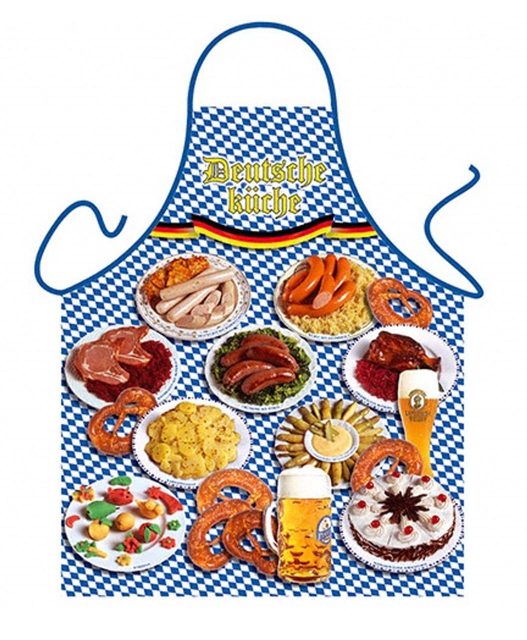 Deutsche Kuche German Cuisine Apron