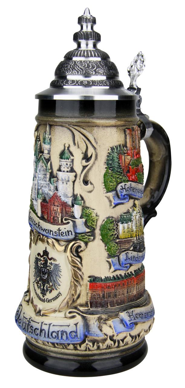 German Castles Beer Stein