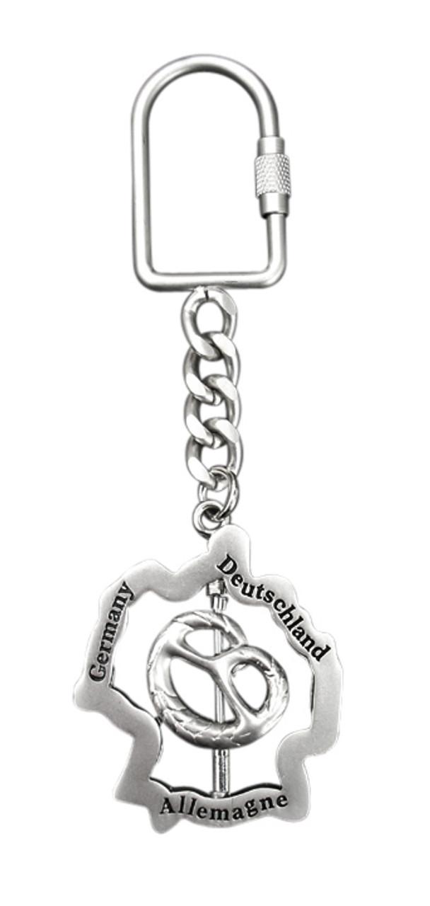 Germany Pretzel Key Chain