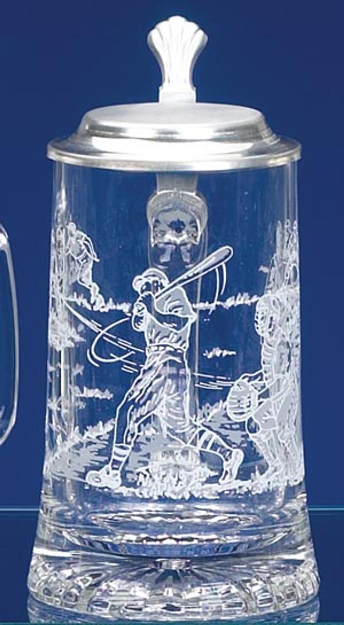 Baseball Glass Beer Stein
