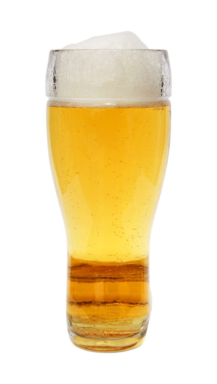 Rear of 0.5L Glass Beer Boot