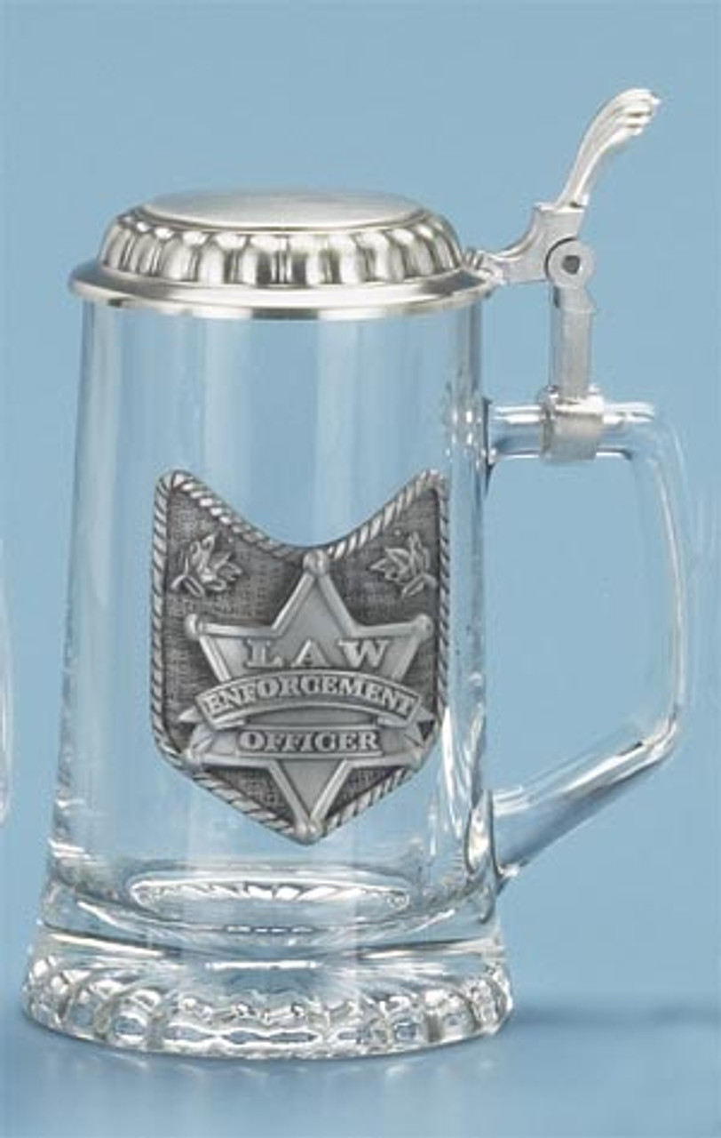 Personalized Law Enforcement Beer Glass
