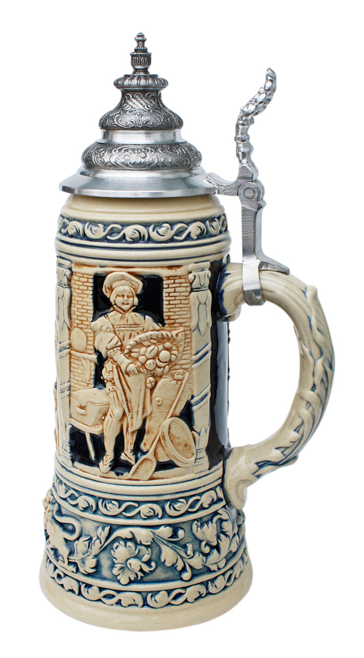 King Limitaet 2002 | Medieval Professions Antique Style Beer Stein