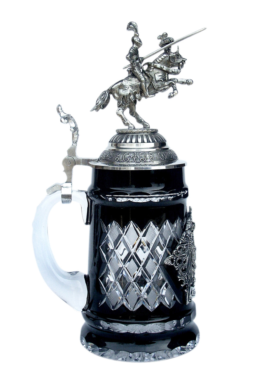 Lord of Crystal German Knight Beer Stein