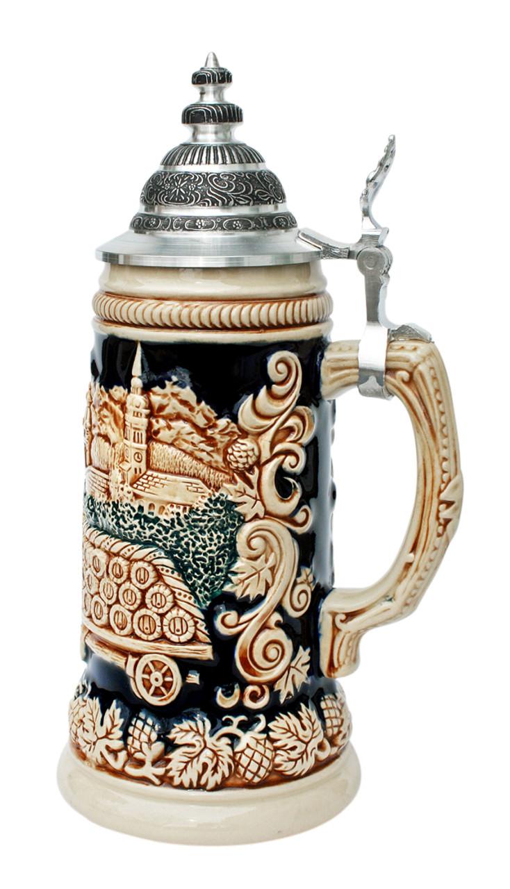 Official Munich Oktoberfest Antique Style Beer Stein
