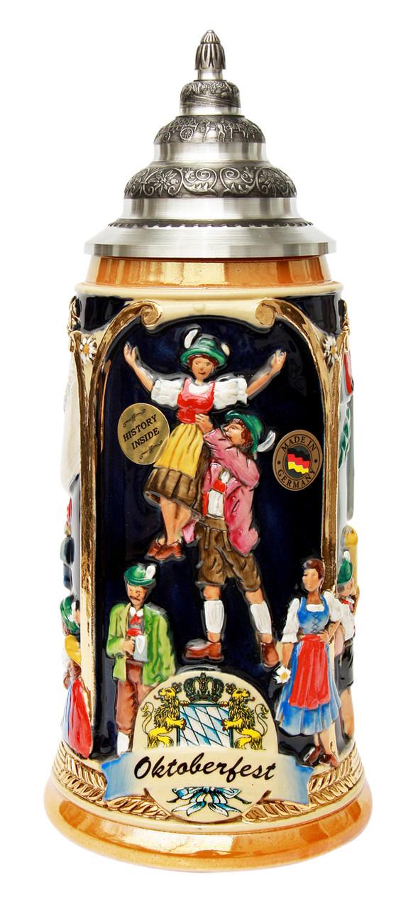 Munich Oktoberfest Beer Stein for Sale