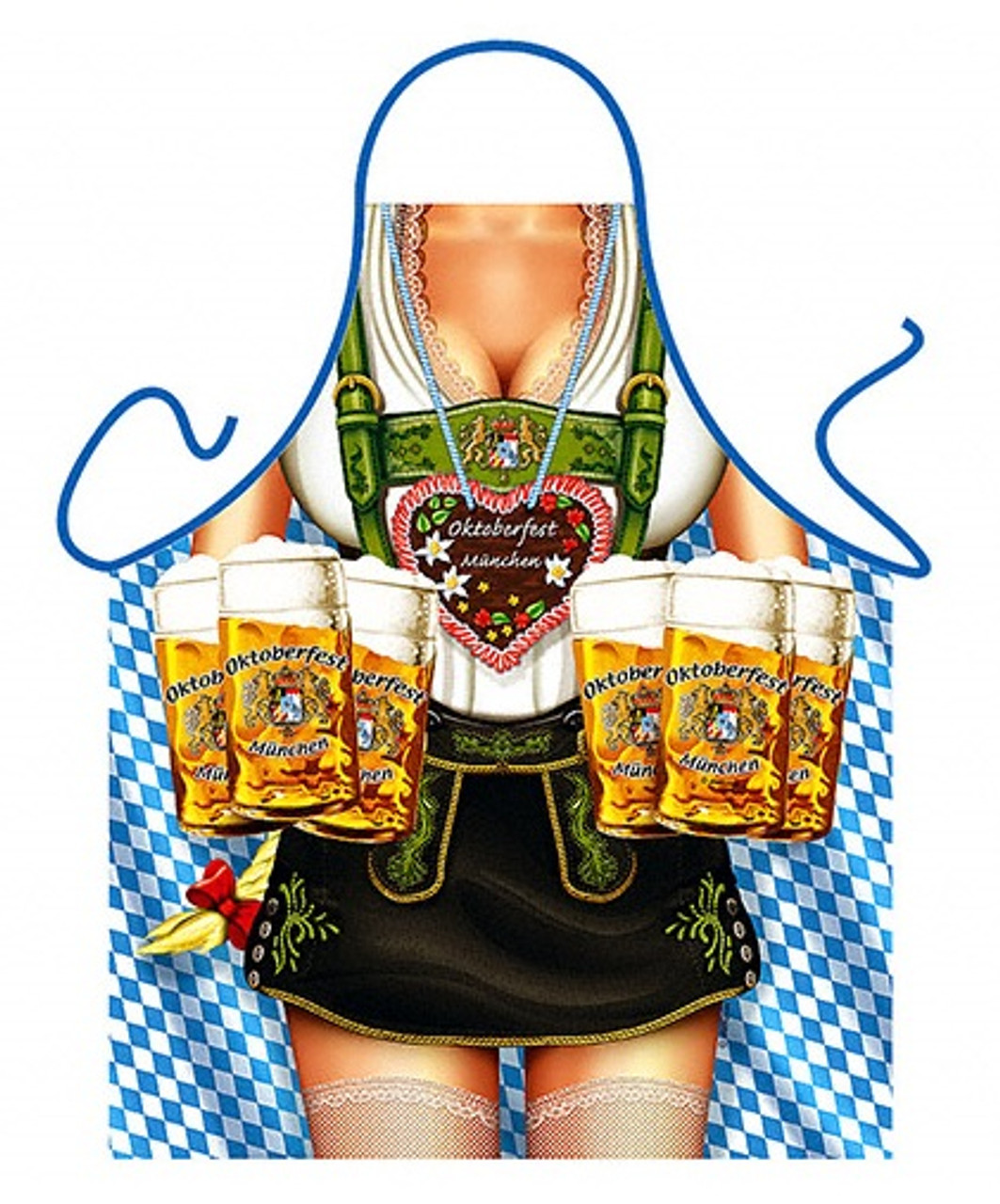 Oktoberfest Female Beer Apron