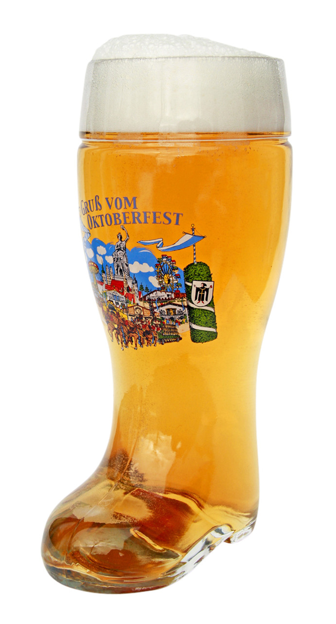 One liter official drinking boot
