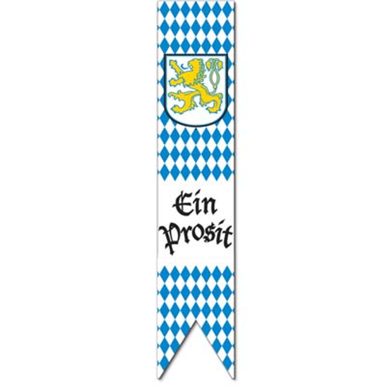 Oktoberfest Jointed Pull down Party Banner Decoration