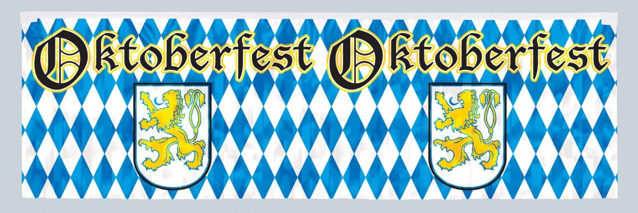 Oktoberfest Metallic Fringe Party Banner