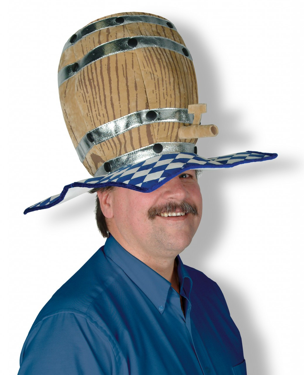 Oktoberfest Party Beer Barrel Hat